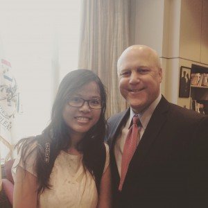 Pichleap with Mitch Landrieu